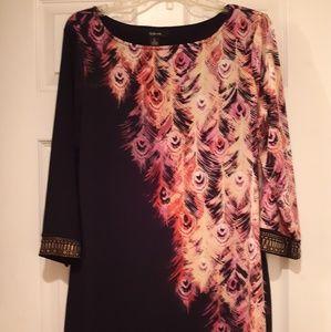 Style & Co womens long shirt dress/blouse